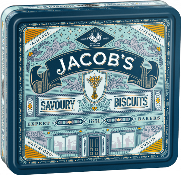 Biscuits for Cheese Heritage Tin