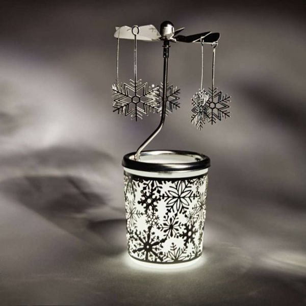 Snowflake Candle Mill
