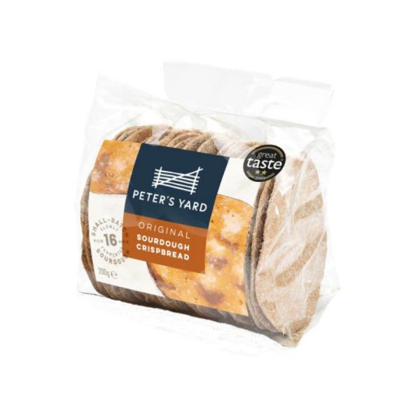Peter's Yard Original Sourdough Crispbread Bag