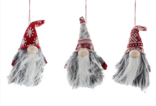 Hanging Nordic Fur Gonks
