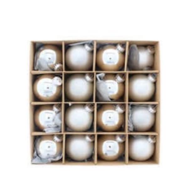 Silver Glass Balls