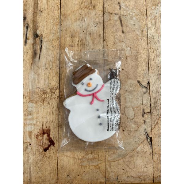 Snowman Shortbread